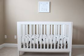 modern crib sheets
