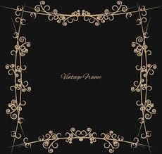 vintage frame border design. Plain Vintage Swirl Vintage Frame Border For Vintage Frame Border Design I