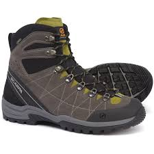 Scarpa R Evolution Gore Tex Hiking Boots Waterproof Suede For Men