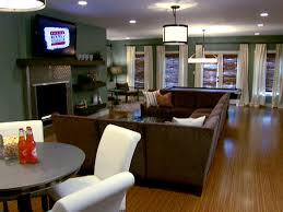 Basement Design Ideas Pictures And Videos HGTV Fascinating Basement Makeover Ideas