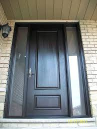 fiberglass front entry door with sidelights amazing