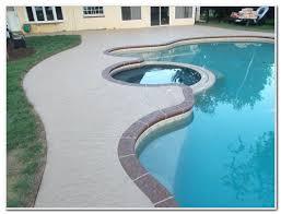 astonishing painting concrete pool decks best paint concrete pool deck diy paint concrete pool deck