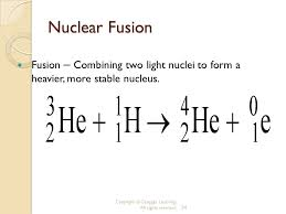 nuclear fusion equation tessshlo