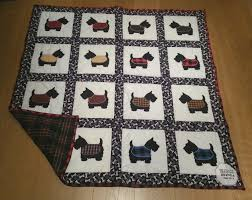 Small Town Oil Wife: Scottie Dog Quilt - Celebrating New Places & ... knows that I love dogs so... what better than a Scottie dog quilt! She  is very talented, and she makes such fun and interesting blankets for our  family. Adamdwight.com