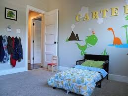 Dinosaur Bedroom Decor Luxury Kids Bedrooms With Dinosaur Themed Wall Art  And Murals
