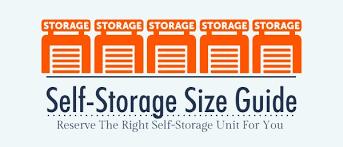 U Haul Tips Self Storage Size Guide