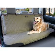 solvit deluxe quilted pet bench seat cover installed