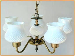 chandeliers milk glass chandelier antique images value