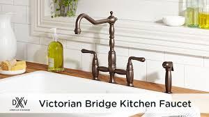 Victorian Bridge Kitchen Faucet by DXV