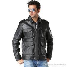 mens leather m65 field jacket cairoamani com