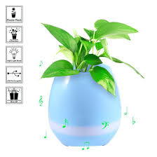 best office speakers. flower plant smart music pot bluetooth speaker with led light touch control piano function home office best speakers s