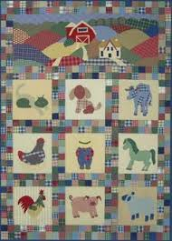 Grandpa's Farm Block of the Month Club You could make this ... & Applique Quilt Patterns | quilt size 54 x 39 old macplaids farmyard quilt  pattern is another Adamdwight.com