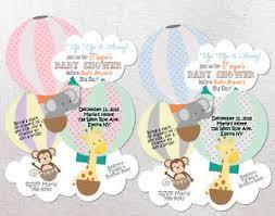 Jungle Baby Shower Invitations Unique Invites Girl Or Boy Custom