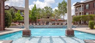 pool at cascade at fall creek luxury apartment homes in houston tx