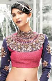 Kolar Design Blouse High Neck Blouse Designs Trending 21 High Neck Designs In