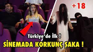 SİNEMADA KORKUTMA ŞAKASI YAPARAK İNSANLARI TROLLEDİM ! (Türkiye'de İlk) -  YouTube