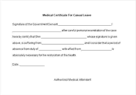 Medical Certificate For Sick Leave Extraordinary Sample Medical Certificate Format For Sick Leave Request Letter