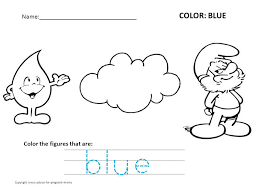 Preschool Coloring Worksheets – Free Printables – Color Bros