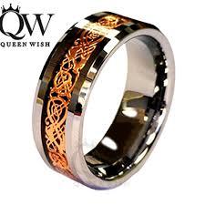 Mens Engagement Rings Infinity Wedding Rings Jewelry 18k Rose Gold