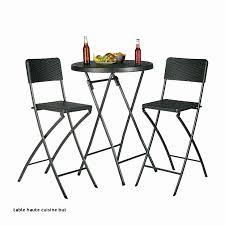 Table Mi Haute Beau De Cuisine Demi Lune Pliante Blanche Table Mi