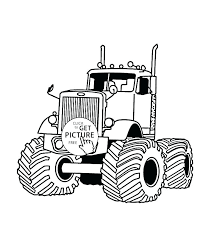 Monster Truck Coloring Pages Free Coloring Monster Truck Coloring