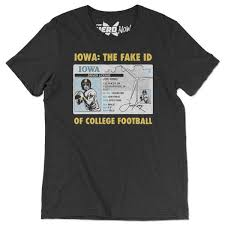 Colin Cowherd shirt With Iowa Hawkeyes T Disses Id 'fake ' rrqZvwd