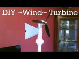homemade wind turbine generator diy