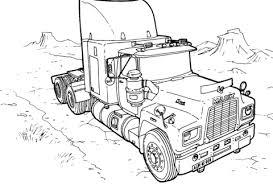 Truck Mack Kleurplaat Gratis Kleurplaten Printen