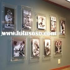 acrylic frames wall mounted acrylic plastic wall hung photo picture frame e acrylic frames wall mounted