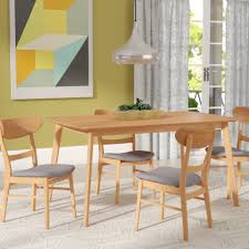 Langley Street Yolanda 5 Piece Rubberwood Dining Set Reviews Wayfair