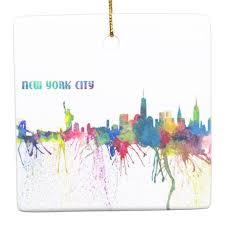 New York City Skyline An Impressionistic Blast Ceramic