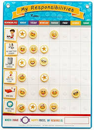 Squirrel Products My Responsibilities Chore Chart Reward Your Child For Being Responsible With Positive Reinforcement