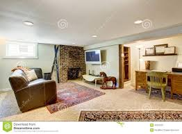 Office Living Room Living Room And Office Area In Old House Stock Photo Image 42629751