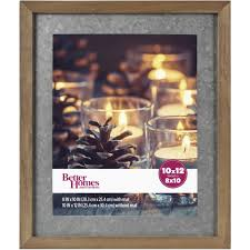 better homes and gardens picture frames gallery wood frame with galvanized