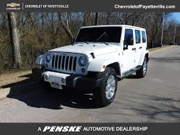 2016 Used Jeep Wrangler Unlimited 4WD 4dr Sahara at Toyota of ...