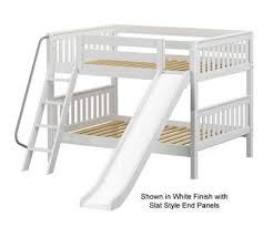 bunk bed with slide. Interesting With Maxtrix Full Over Bunk Bed With Slide  Custom Kids Furniture For With