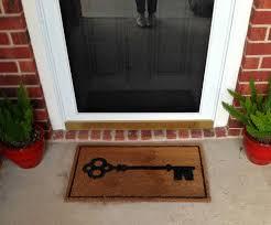 personalized front door matsFront Door Mats Brown  New Decoration  Whats Your Favorite