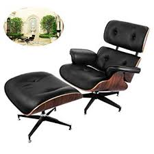 chair ottoman set. Ultraselect Mid Century Lounge Chair And Ottoman Set 7-ply Walnut Laminated Veneer Eames Style