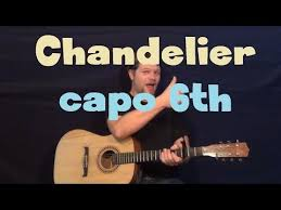 chandelier sia easy guitar lesson how to play tutorial