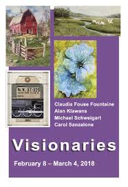 Visionaries (4X4 Winter Group exhibit series) | Artists' Gallery,  Lambertville, NJ