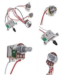visit to buy] electric guitar wiring harness prewired kit 3 way electric guitar wiring harness kits [visit to buy] electric guitar wiring harness prewired kit 3 way toggle switch 1