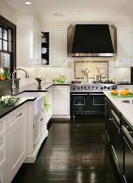 Black And White Kitchen Cabinets Simple Ornaments To Make For Kitchen Design  Inspiration 19