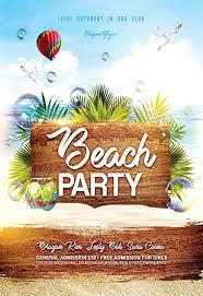 Beach Flyer Beach Party Flyer Tirevi Fontanacountryinn Com