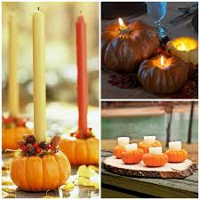 Cheap easy fall decorating ideas Gourds Minipumpkincandleholdersdiyfalldecoratingideas Diy Enthusiasts 14 Easy Pumpkin Centerpieces And Fall Decorating Ideas