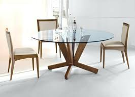 glass round dining table amazing top oak legs