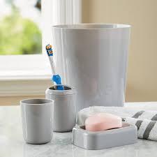 bathroom accessories set walmart. mainstays 4-piece bath accessories set bathroom walmart