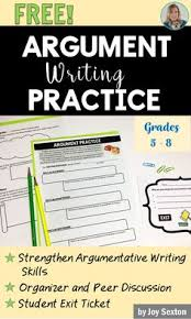 good persuasive essay topics for middle school persuasive as help your students to better understand argumentative writing this fun practice resource