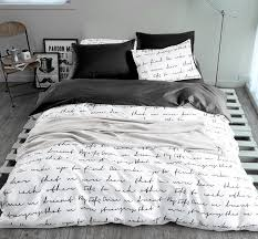 whole letter printing bedding sets duvet cover set linens ru usa size quilt cover set yellow black gray bedding hotel bedding from asite