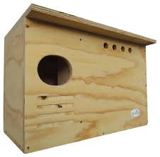 barn owl nesting box large house crafted in usa jcs wildlife