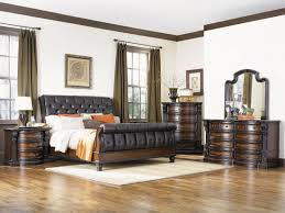 Sleigh Bed Bedroom Sets Fairmont Designs Grand Estates 4pc Eastern King Sleigh Bedroom Set